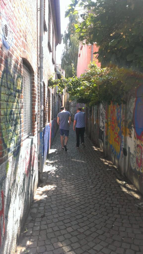 lille gade i aarhus