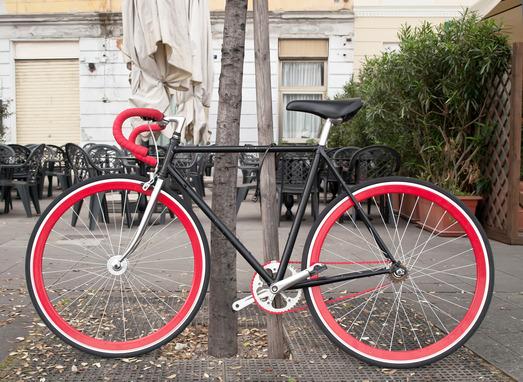 en flot cykel